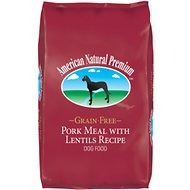 American Natural Premium Grain-Free Pork Meal with Lentils Recipe Dry Dog Food, 30-lb bag