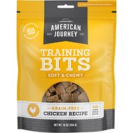 American Journey Chicken Recipe Grain-Free Soft & Chewy Training Bits Dog Treats, 16-oz bag