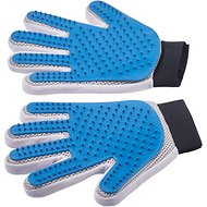 Pat Your Pet Five Finger Grooming Glove, Pair (Left & Right)