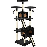 Frisco 72-in Cat Tree, Black