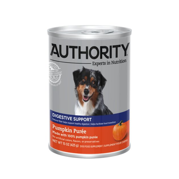 how to give a dog canned pumpkin