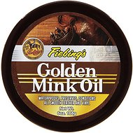 Fiebing's Golden Mink Oil Leather Preserver for Horses, 6-oz tub
