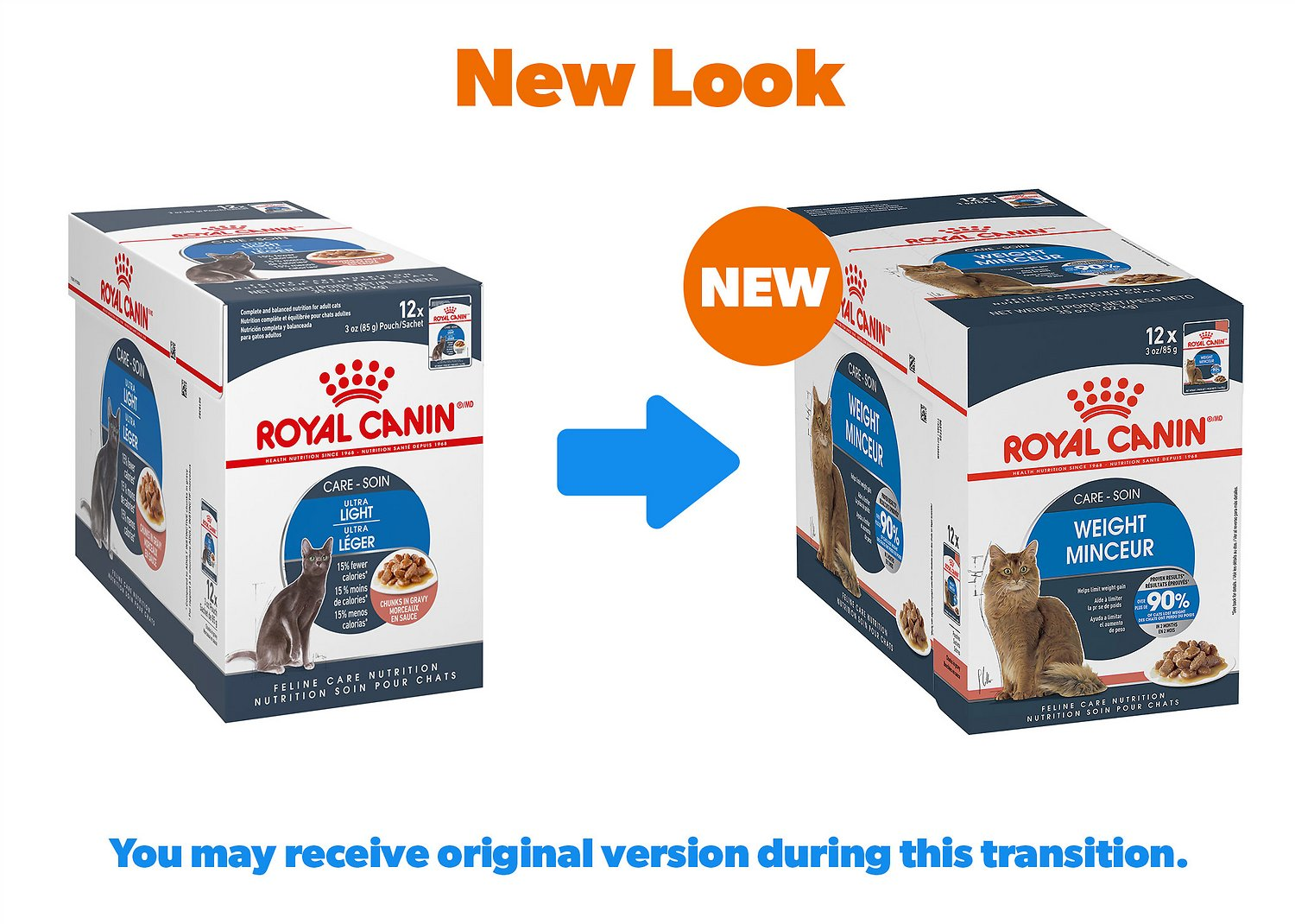 Royal Canin Ultra Light Chunks In Gravy Adult Cat Food