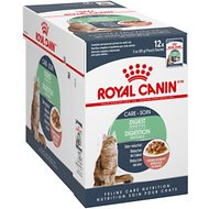 Royal Canin Digest Sensitive Chunks in Gravy Adult Cat Food Pouches, 3-oz, case of 12