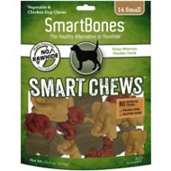 SmartBones Small Smart Chews Grain-Free Dog Treats, 14 count
