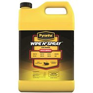 Pyranha Wipe N' Spray Fly Protection Horse Spray, 1-gallon bottle