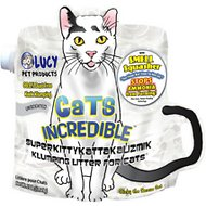 Lucy Pet Products Cats Incredible Unscented Cat Litter, 25-lb bag