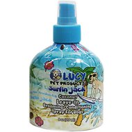 Lucy Pet Products Surfin' Jack Coconut Leave-In Conditioning Dog & Cat Spray, 8-oz bottle