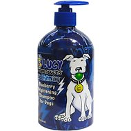 Lucy Pet Products Blue Lightening Blueberry Brightening Dog & Cat Shampoo, 17-oz bottle