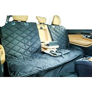Plush Paws Products Center Console Access Seat Cover with Removable Hammock, Regular
