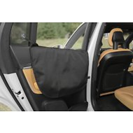 Plush Paws Products Waterproof Car Door Cover, Black, Standard