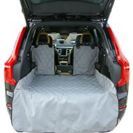 Plush Paws Products Waterproof Cargo Liner, Grey, Regular