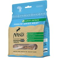 Nandi Karoo Ostrich Freeze-Dried Dog Treats, 2-oz bag