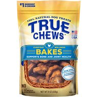 True Chews Everyday Wellness Bakes Supports Bone & Joint Health Dog Treats, 8-oz bag