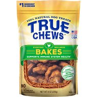 True Chews Everyday Wellness Bakes Supports Immune System Health Dog Treats, 8-oz bag