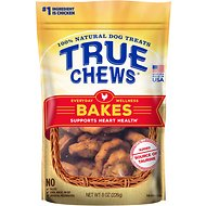 True Chews Everyday Wellness Bakes Supports Heart Health Dog Treats, 8-oz bag