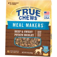 True Chews Meal Makers Beef & Sweet Potato Medley Dog Food Topper, 9-oz bag