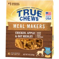 True Chews Meal Makers Chicken, Apple & Oat Medley Dog Food Topper, 9-oz bag