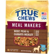 True Chews Meal Makers Beef, Peas & Carrots Medley Dog Food Topper, 9-oz bag