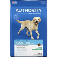 Authority Lamb & Rice Formula Large Breed Adult Dry Dog Food, 34-lb bag