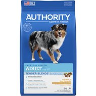 Authority Tender Blends Chicken & Rice Formula Adult Dry Dog Food, 30-lb bag