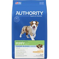 Authority Tender Blends Chicken & Rice Formula Puppy Dry Dog Food, 5-lb bag