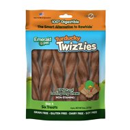 Emerald Pet Turducky Twizzies Grain-Free Dog Treats, 6 count, 6 in