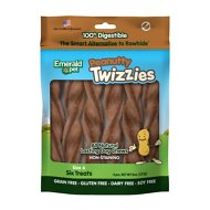 Emerald Pet Peanutty Twizzies Grain-Free Dog Treats, 6 count, 6 in