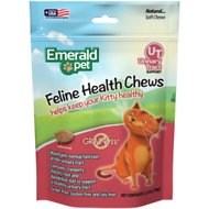 Emerald Pet Chicken Flavored Urinary Tract Formula Grain-Free Cat Treats, 2.5-oz bag