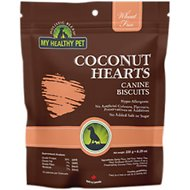 Holistic Blend Wheat-Free Coconut Hearts Dog Treats, 8.3-oz bag