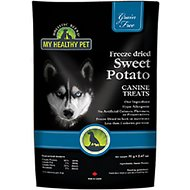 Holistic Blend Freeze-Dried Grain-Free Sweet Potato Dog Treats, 1.24-oz bag