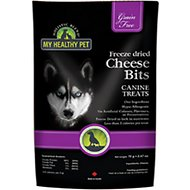 Holistic Blend Freeze-Dried Grain-Free Cheese Bits Dog Treats, 1.24-oz bag