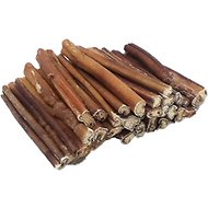 "Top Dog Chews Premium 6"" Bully Stick Dog Treats, 25 count"