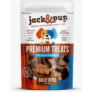 Jack & Pup Bully Bites Dog Treats, 2-lb bag