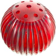 Pet Qwerks Blinky Babble Ball Dog Toy, Small