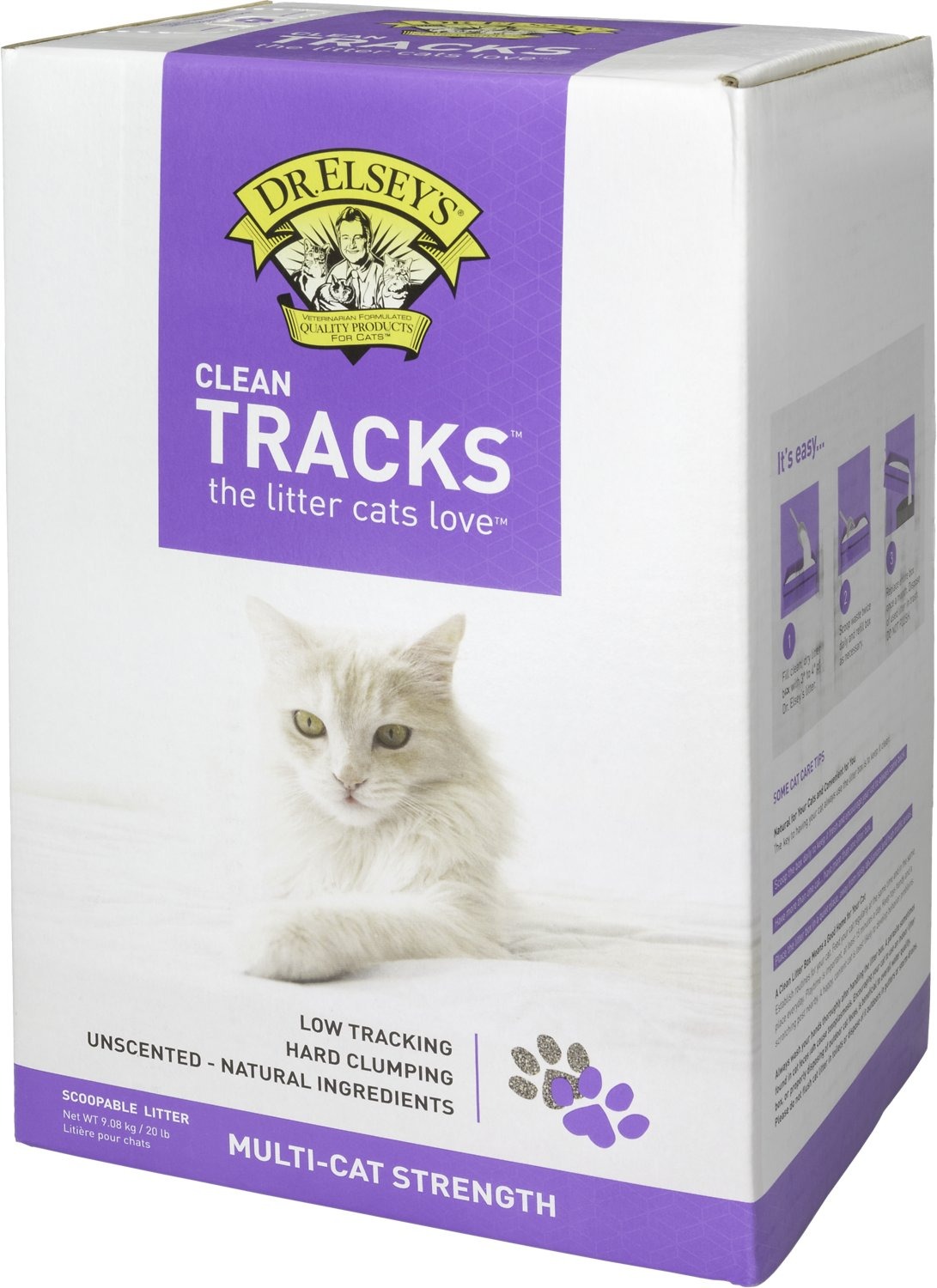 Dr Elsey S Clean Tracks Multi Cat Strength Clumping Cat