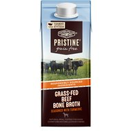 Castor & Pollux PRISTINE Grass-Fed Beef Bone Broth With Turmeric Dog Food Topper