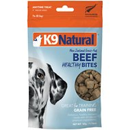 K9 Natural Healthy Bites Beef Freeze-Dried Dog Treats, 1.76-oz bag