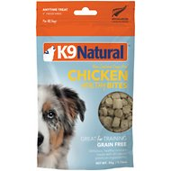 K9 Natural Healthy Bites Chicken Freeze-Dried Dog Treats, 1.76-oz bag