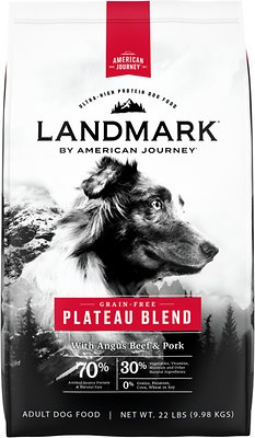 American Journey Landmark Plateau Blend with Angus Beef and Pork Grain-Free Dry Dog Food