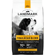 American Journey Landmark Trailhead Blend with Cage-Free Chicken & Turkey Grain-Free Puppy Dry Dog Food, 4-lb bag