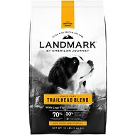 American Journey Landmark Trailhead Blend with Cage-Free Chicken & Turkey Grain-Free Puppy Dry Dog Food, 12-lb bag