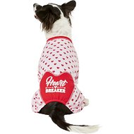 Pup Crew Heart Breaker Dog Pajamas, Large