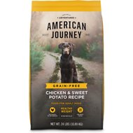 American Journey Healthy Weight Chicken & Sweet Potato Recipe Grain-Free Dry Dog Food, 24-lb bag