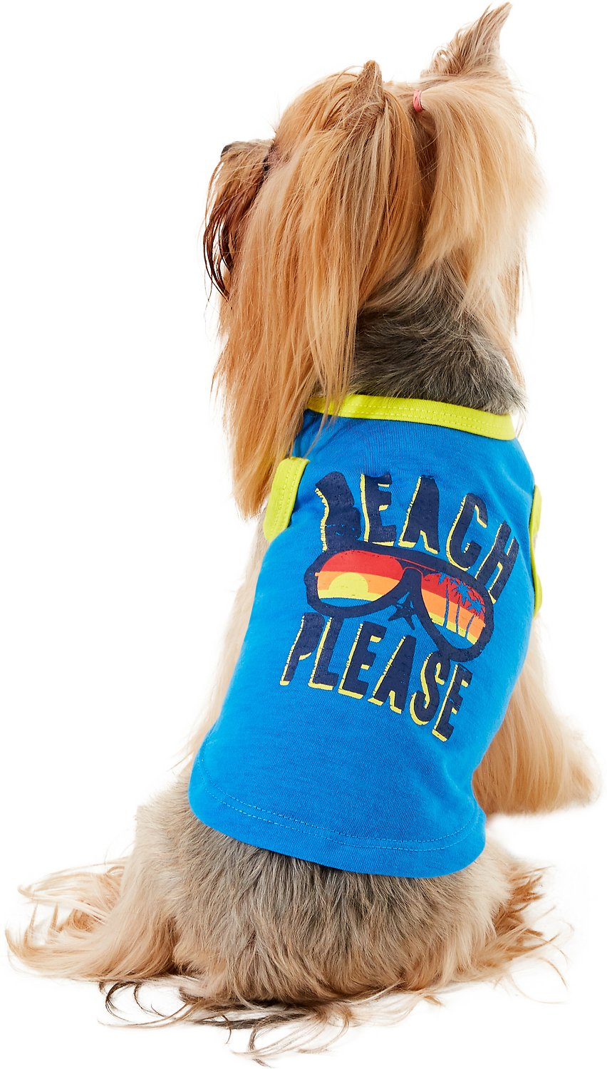 "Image result for Pup Crew ""Beach Please"" Dog & Cat T-Shirt"