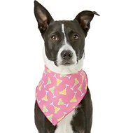Pup Crew Margarita Print Dog & Cat Bandana, Medium/Large