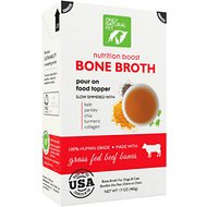 Only Natural Pet Grass-Fed Beef Bone Broth for Dogs & Cats, 17-oz box