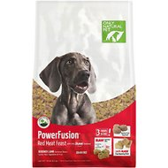 Only Natural Pet PowerFusion Red Meat Feast Grain-Free Raw Infused Dry Dog Food, 18-lb bag