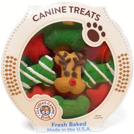 Claudia's Canine Bakery Reindeer Wonderland Dog Treats, 11-oz tub