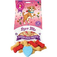 Claudia's Canine Bakery Love Me Baked Dog Treats, 8-oz bag